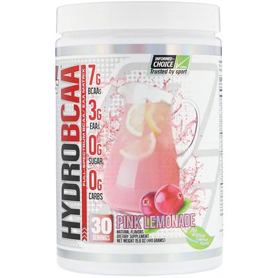 Фото - Hydro BCAA, розовый лимонад, 441г (15,6унций) aminolast супер bcaa для восстановления и выносливости фруктовый пунш 420 г 14 8 унций