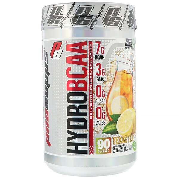 ProSupps, Hydro BCAA, Texas Tea, 2.8 lb (1,278 g) (Discontinued Item)