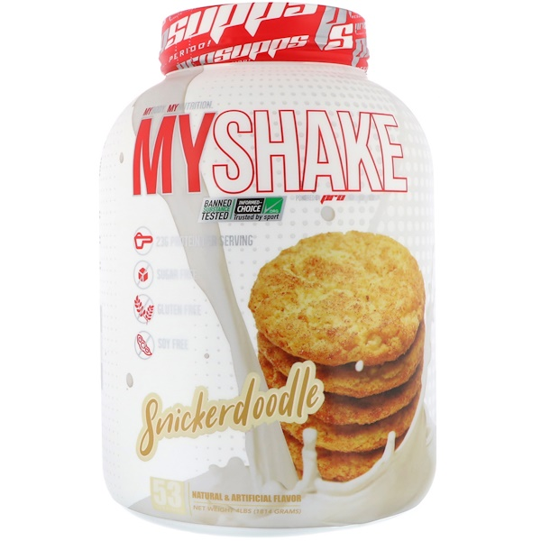 ProSupps, MyShake, сникердудл, 1814 г (Discontinued Item)