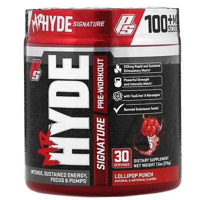 Купить ProSupps Mr Hyde, фирменный предтренировочный комплекс, со вкусом карамельного пунша, 216г (7, 6унции)