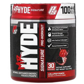 ProSupps, Mr. Hyde, Signature Pre Workout. Lollipop Punch, 7.6 oz (216 g)