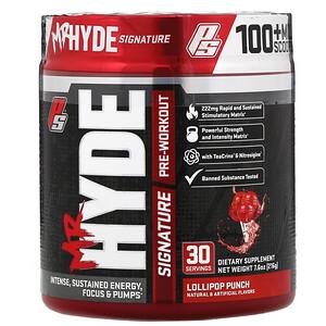 ПроСаппс, Mr. Hyde, Signature Pre Workout. Lollipop Punch, 7.6 oz (216 g) отзывы покупателей