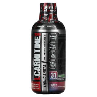 ProSupps, Vanish, L-Carnitine 3000 Liquid Shots, Berry, 3,000 mg, 16 fl oz (473 ml)