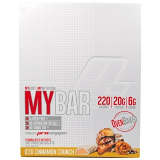ProSupps, My Bar, Iced Cinnamon Crunch, 12 Bars, (11.64 oz) 330 g