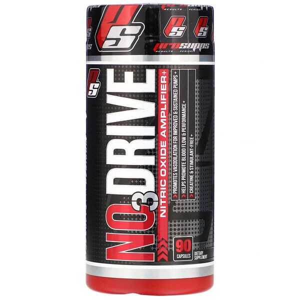 ProSupps, NO3Drive, Nitric Oxide Amplifier, 90 Capsules (Discontinued Item)