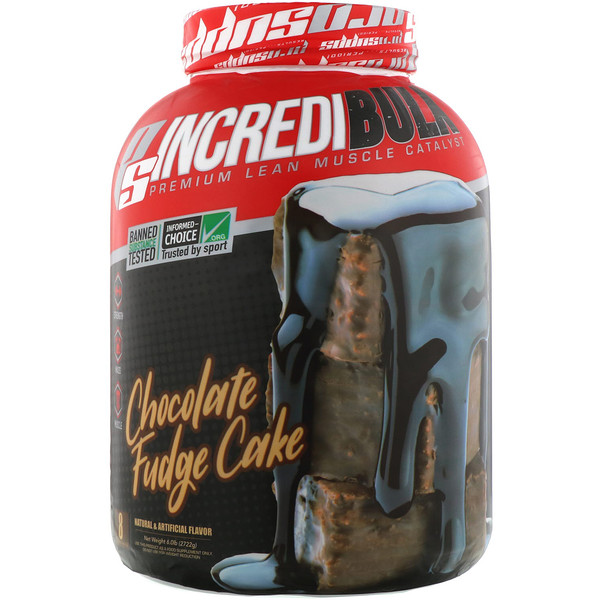 Incredibulk, Chocolate Fudge Cake, 6.0 lb (2722 g)