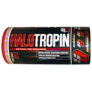 ProSupps, Halo Tropin, Natural Test Enhancer, Anti-Aromatase+, 90 Capsules