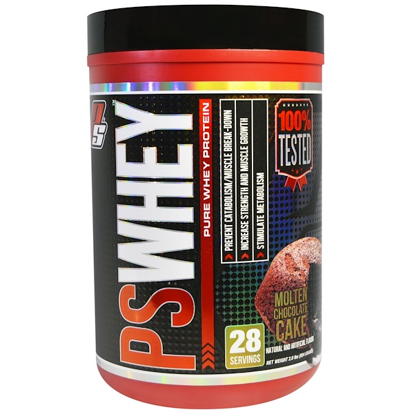 ProSupps, PSWhey, Pure Whey Protein, Molten Chocolate Cake, 2.0 lbs (924 g) (Discontinued Item)