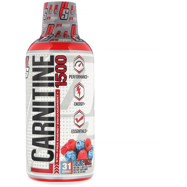 ProSupps, L-Carnitine 1500, Blue Razz, 1,500 mg, 16 fl oz (473 ml)