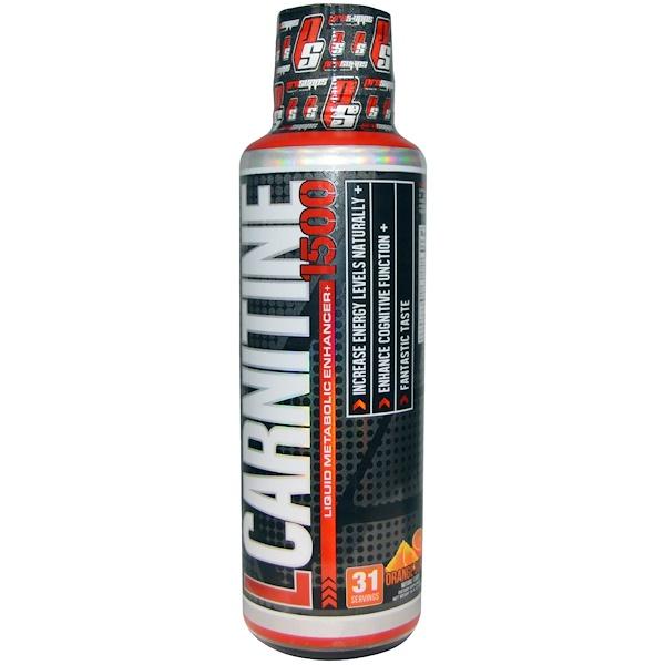 ProSupps, L-Carnitine 1500, Orange Burst, 16 fl oz (473 ml) (Discontinued Item)