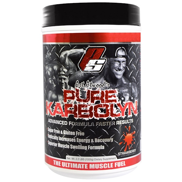 ProSupps, Art Atwood's Pure Karbolyn, Strawberry, 2.2 lbs (1000 g) (Discontinued Item)