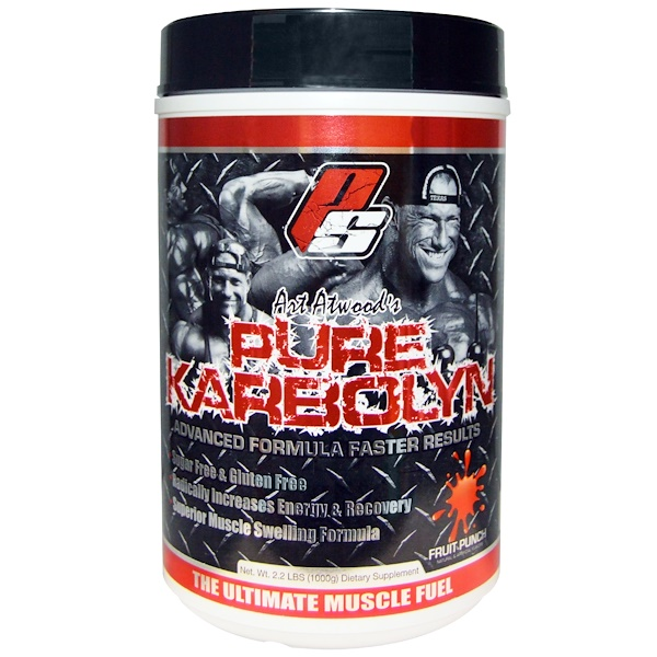 ProSupps, Art Atwood's Pure Karbolyn, Fruit Punch, 2.2 lbs (1000 g) (Discontinued Item)