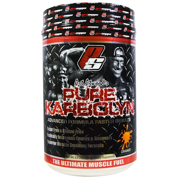ProSupps, Art Atwood's Pure Karbolyn, Orange, 2.2 lbs (1000 g) (Discontinued Item)