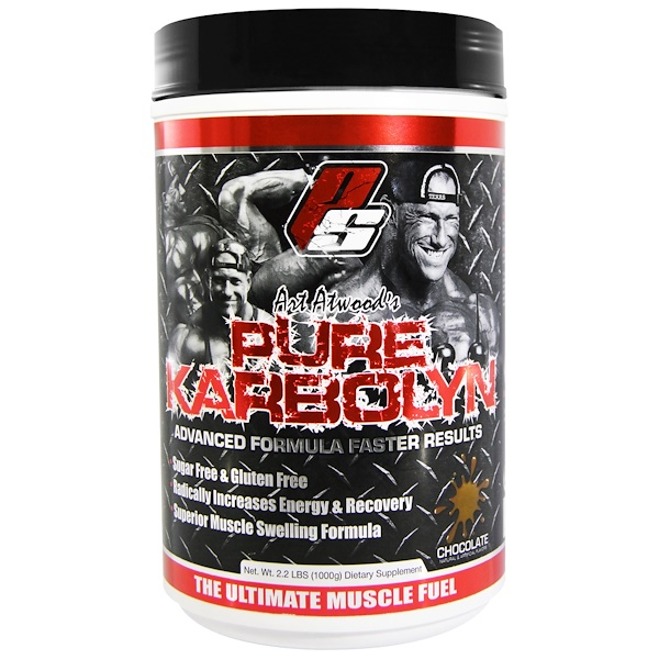 ProSupps, Art Atwood's Pure Karbolyn, Chocolate, 2.2 lbs (1000 g) (Discontinued Item)