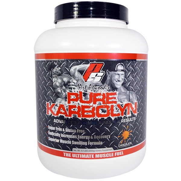 ProSupps, Art Atwood's Pure Karbolyn, Chocolate, 4.4 lbs (2000 g) (Discontinued Item)
