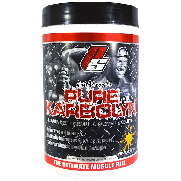 ProSupps, Art Atwood's Pure Karbolyn, Peanut Butter, 2.2 lbs (1000 g) (Discontinued Item)