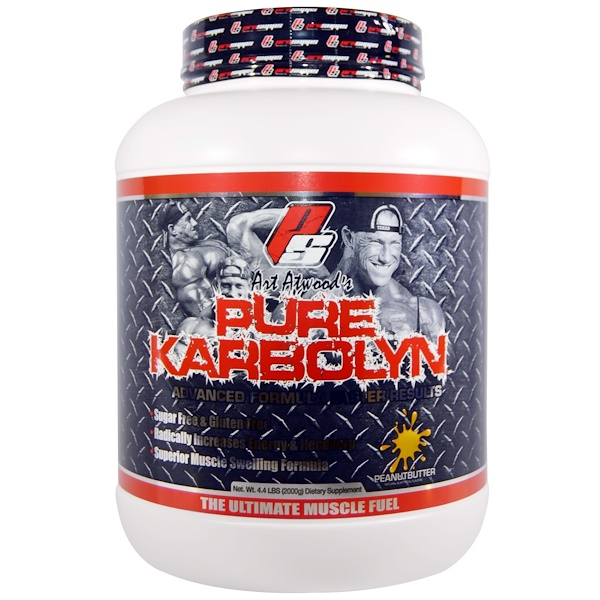 ProSupps, Art Atwood's Pure Karbolyn, Peanut Butter, 4.4 lbs (2000 g) (Discontinued Item)