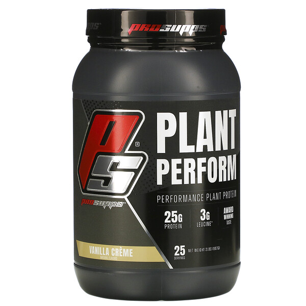 Plant Perform, Performance Plant Protein, Vanilla Creme, 2 lbs (907 g)
