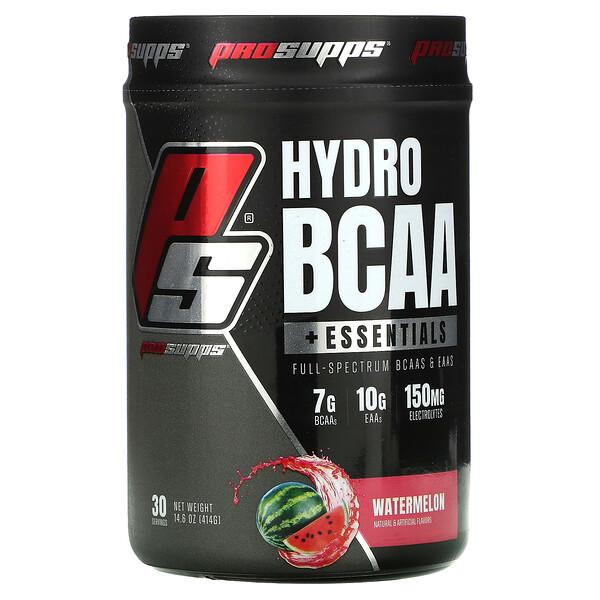 Hydro BCAA +Essentials, Watermelon, 14.6 oz (414 g)