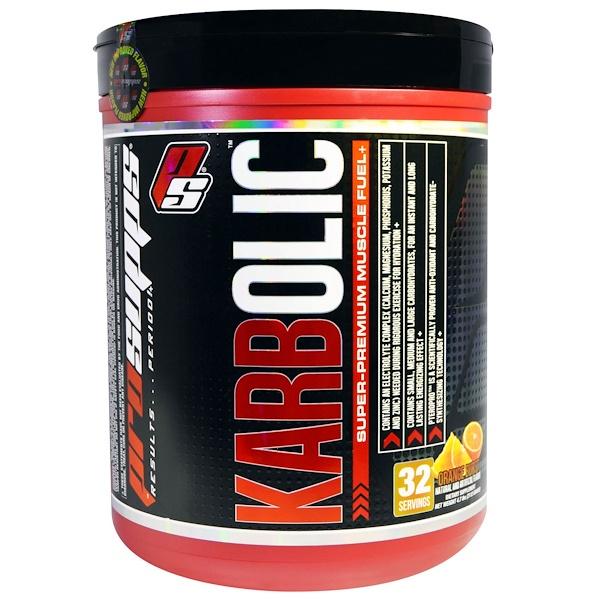 ProSupps, Karbolic, Super Premium Muscle Fuel, Orange Burst, 4.7 lbs (2112 g) (Discontinued Item)