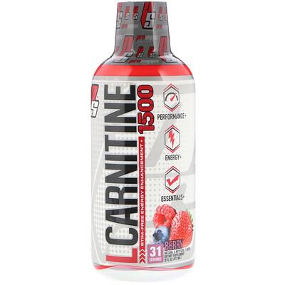 Купить ProSupps L-карнитин1500, ягодный вкус, 1500мг, 473мл (16жидк.унций)