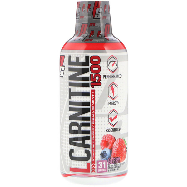 L-Carnitine 1500, Berry, 1,500 mg, 16 fl oz (473 ml)