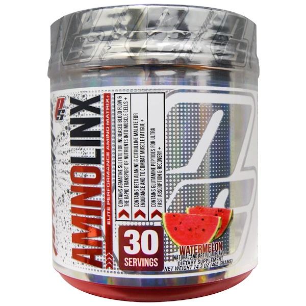 ProSupps, AminoLinx Elite Performance Amino Matrix, Watermelon, 14.3 oz (405 g) (Discontinued Item)