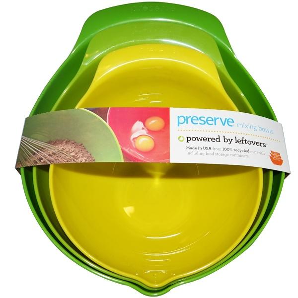 Preserve, Набор мисок для смешивания, 3 шт (Discontinued Item)