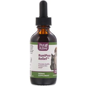 PetAlive, RuniPoo Relief, 2 fl oz (59 ml) отзывы
