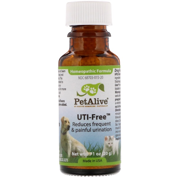 PetAlive, UTI-free ، 0.71 أوقية (20 جم) (Discontinued Item)