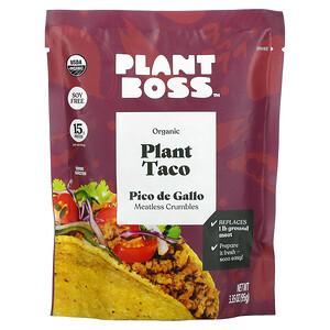 Plant Boss, Organic Plant Taco, Pico de Gallo, 3.35 oz (95 g)