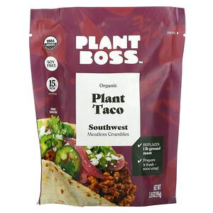 Plant Boss, Organic Plant Taco, Southwest Meatless Crumbles, 3.35 oz (95 g)'