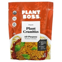 Plant Boss, Organic All Purpose Meatless Plant Crumbles, 3.35 oz (95 g)