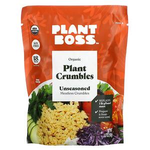 Plant Boss, Organic Plant Crumbles, Unseasoned, 3.17 oz (90 g)