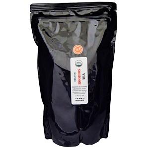 Порт Традинг Ко, Organic Rooibos Tea, Peach, Caffeine Free, 1 lb (454 g) отзывы