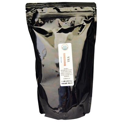 Organic Rooibos Tea (Органический чай ройбуш), без кофеина, 454 г (1 фунт)