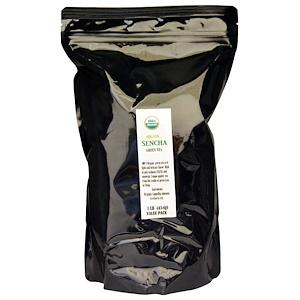 Порт Традинг Ко, Organic Sencha Green Tea, 1 lb (454 g) отзывы