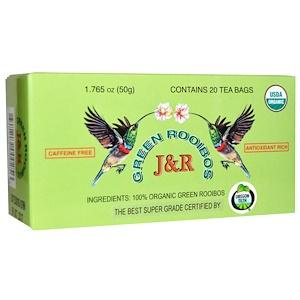 Порт Традинг Ко, Organic, Green Rooibos, Caffeine Free, 20 Tea Bags, 1.765 oz (50 g) отзывы покупателей