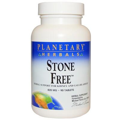 Planetary Herbals Stone Free, 820 мг, 90 таблеток