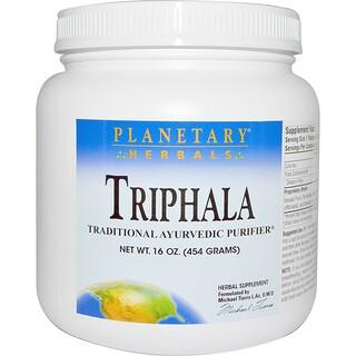 """Planetary Herbals, """"Трифала"""", порошок, 16 унций (454 г)"""