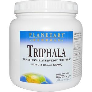 Планетари Хербалс, Triphala, Powder, 16 oz (454 g) отзывы покупателей