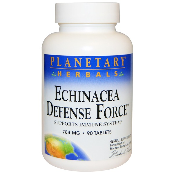 Planetary Herbals, Echinacea Defense Force, 784 mg, 90 Tablets (Discontinued Item)