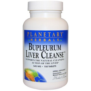 Planetary Herbals, Bupleurum Liver Cleanse, 545 mg, 150 Tablets