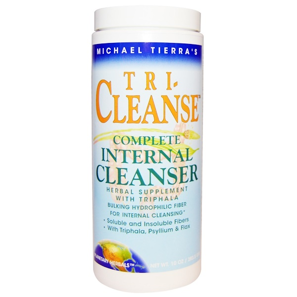 Planetary Herbals, Michael Tierra's, Tri-Cleanse, Complete Internal Cleanser, 10 oz (283.5 g) (Discontinued Item)