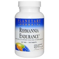 Rehmannia Endurance (ремания), 637 мг, 150 таблеток - фото