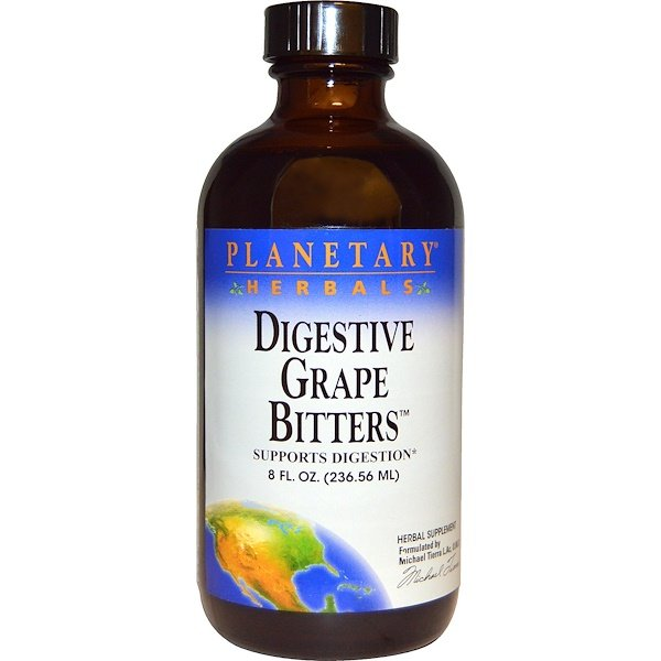 Planetary Herbals, Digestive Grape Bitters, 8 fl oz (236.56 ml)