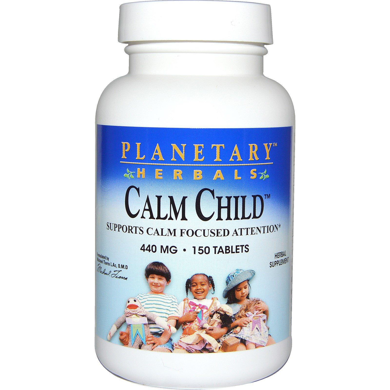 Planetary Herbals, Успокаивающее для детей, 440 мг, 150 таблеток