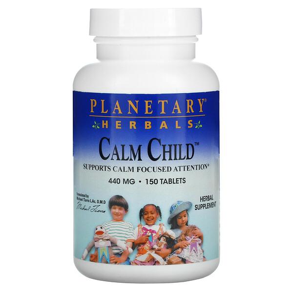 Planetary Herbals, Calme enfant, 440 mg, 150 Comprimés