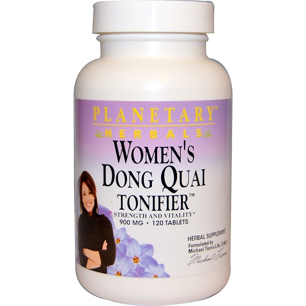 Planetary Herbals, Women's Dong Quai Tonifier, 900 mg, 120 Tablets (Discontinued Item)