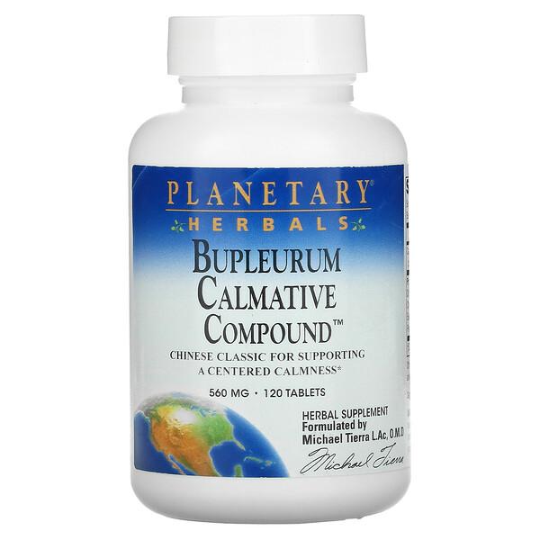 Bupleurum Calmative Compound, 560 mg, 120 Tablets
